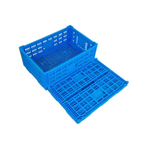 Collapsible Crates Folding Plastic Pallet Boxes