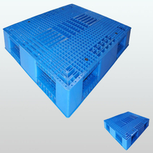 Double faced stackable plastic pallet L1200*W1000*H150