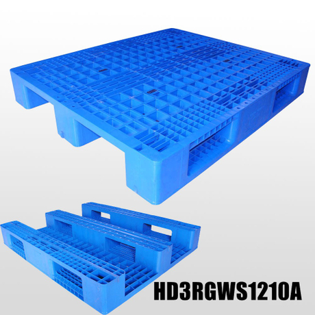 1200*1000*165 mm 3 Runners Grid deck Plastic Pallet