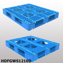 1200*1000*150 mm Stack-able plastic pallet with picture bottom and open deck