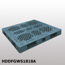 HDDFGWS1818A 1800*1800*154 mm plastic pallet with double-faced, open deck