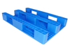 1200*800 Close Deck Single Face Recyclable HDPE Plastic Pallets