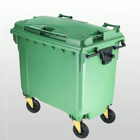 Large Plastic Garbage Can