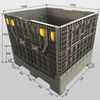 Foldable Pallet Container Reusable Plastic Pallets And Crates