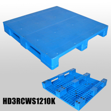 heavy-duty 1200*1000*150mm 3 Runners closed deck hygeian plastic pallet
