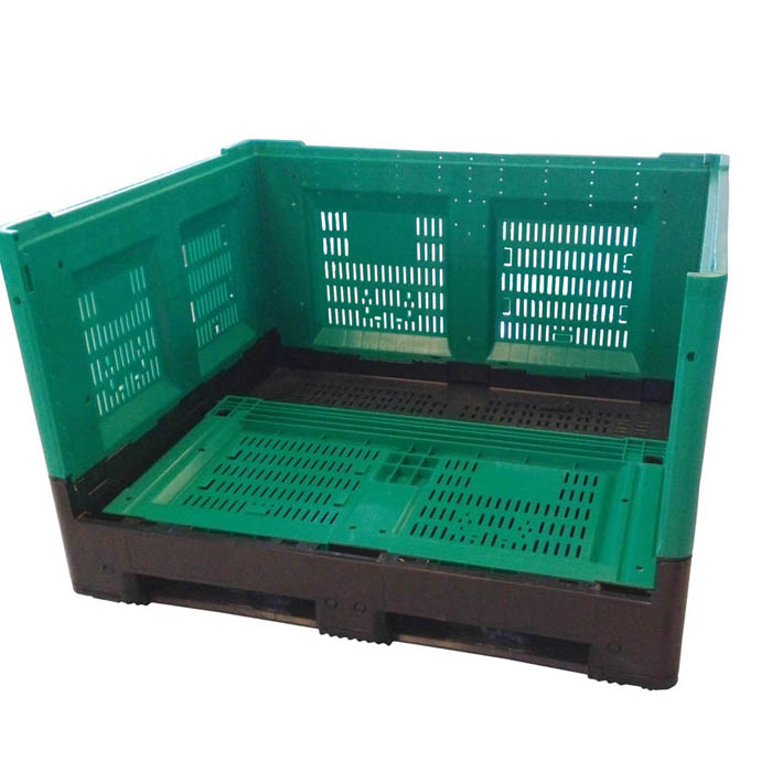 New designed Collapsible Plastic Pallet Box 1200*1000*760mm