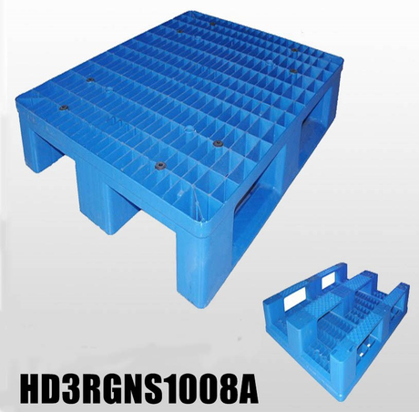 HD3RGNS1008A 1000*800*160 mm plastic pallet with open deck & 3 runners bottom