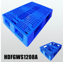 Stack Able Full Perimeter Plastic Pallet Heavy Duty Industrial Plastic Pallets