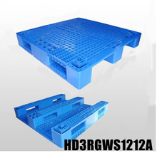 1200*1200 Three Runners Green Chemical Plastic Pallets