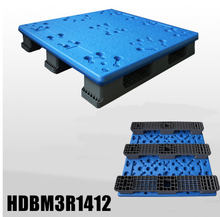 Extra high load capacity blow molding plastic pallet 1400x1200x150mm