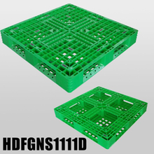 1100 1100 Full Perimeter Floor Open Decks Export Plastic Pallet