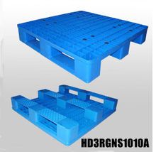 1000*1000*160 plastic pallet with 3 runners and open deck