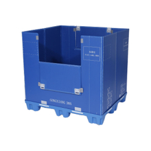 Folding Plastic Storage Crate for Sale