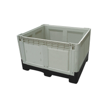 HDPE Warehouse Logistic Plastic Pallet Box Container with ISO