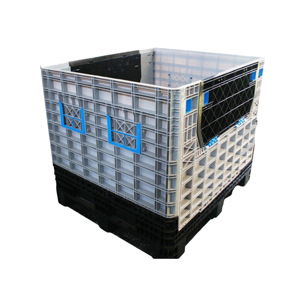 Ventilated Collapsible Pallet Containers Storage Boxes