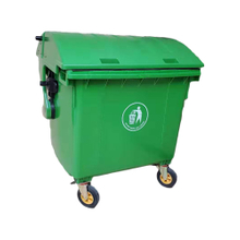 Trash Bucket with Wheels And Lid