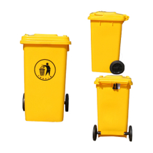 100L Moving Plastic Outdoor Garbage Bin