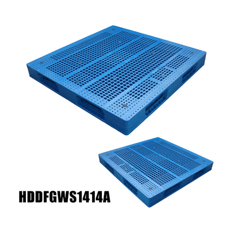 1400*1400 Open Deck Heavy Duty Packaging Storage Plastic Pallet