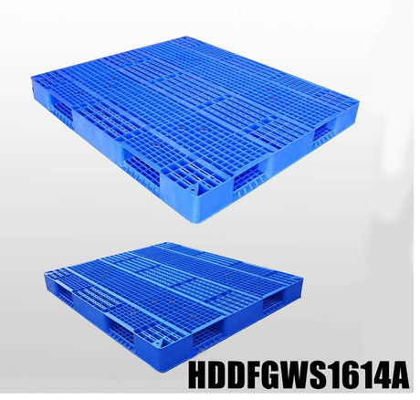 Double-faced Stackable plastic pallet L1600*W1400*H150