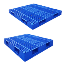 Heavy Duty Stackable Industrial Plastic Pallets 4 Way for Sale