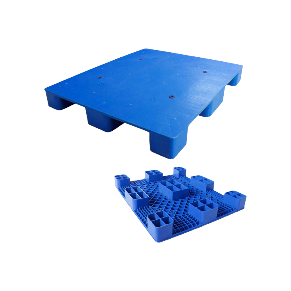 How about the design of the blow molding process of the nine-foot plastic pallet?