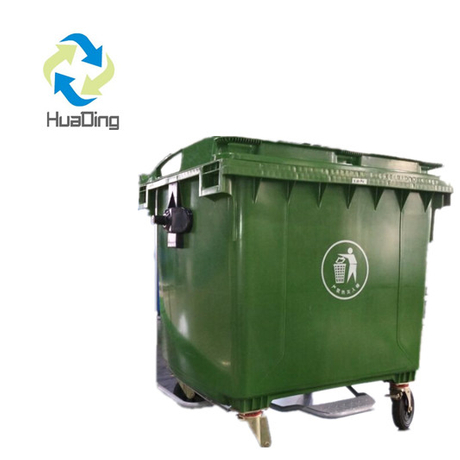 1100L Large Garbage Bins on Wheels