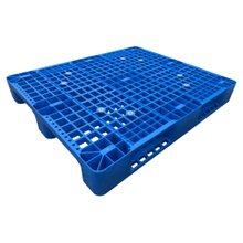 3 Runners Open Deck Plastic Pallets with Steel Tubes Reinforced with ISO
