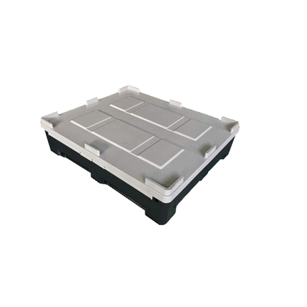 1200*1100*810 HDPE Warehouse Logistic Plastic Pallet Box Container