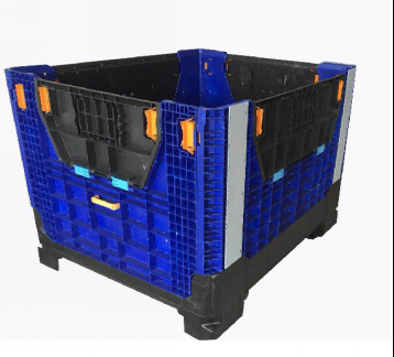 1200*1000*1050 Close Reusable Storage Collapsible Plastic Pallet Boxes