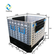 Plastic Pallet Foldable Containers for Warehouse