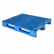 1200*1000 Three Runners Closed Deck Nestable Plastic Pallets