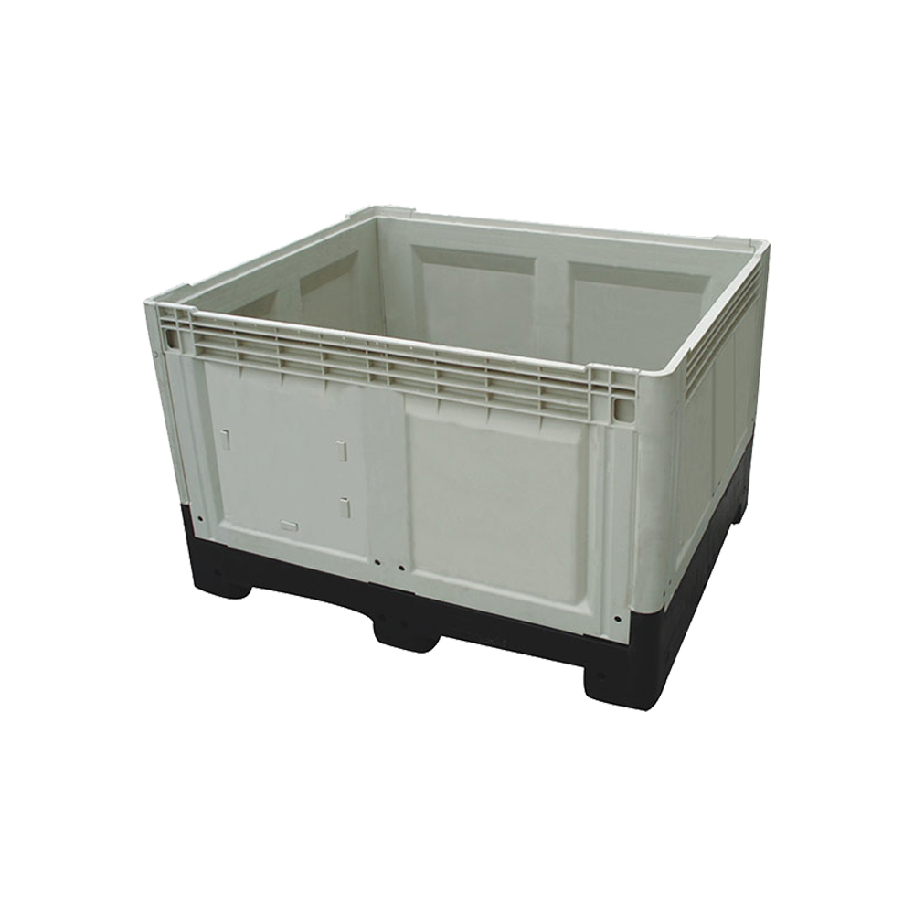 1200*1000*810 Closed Walls And Grid Bottom Reusable Storage Plastic Pallet Container