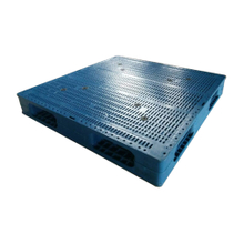Full Perimeter Close Decks Plastic Pallets for Warehouse