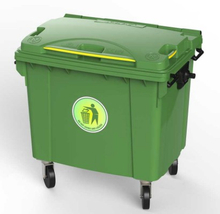 800L Garbage Bin on Wheels