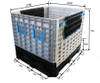 Bulk Plastic Storage Containers Plastic Box for Warehouse Storage