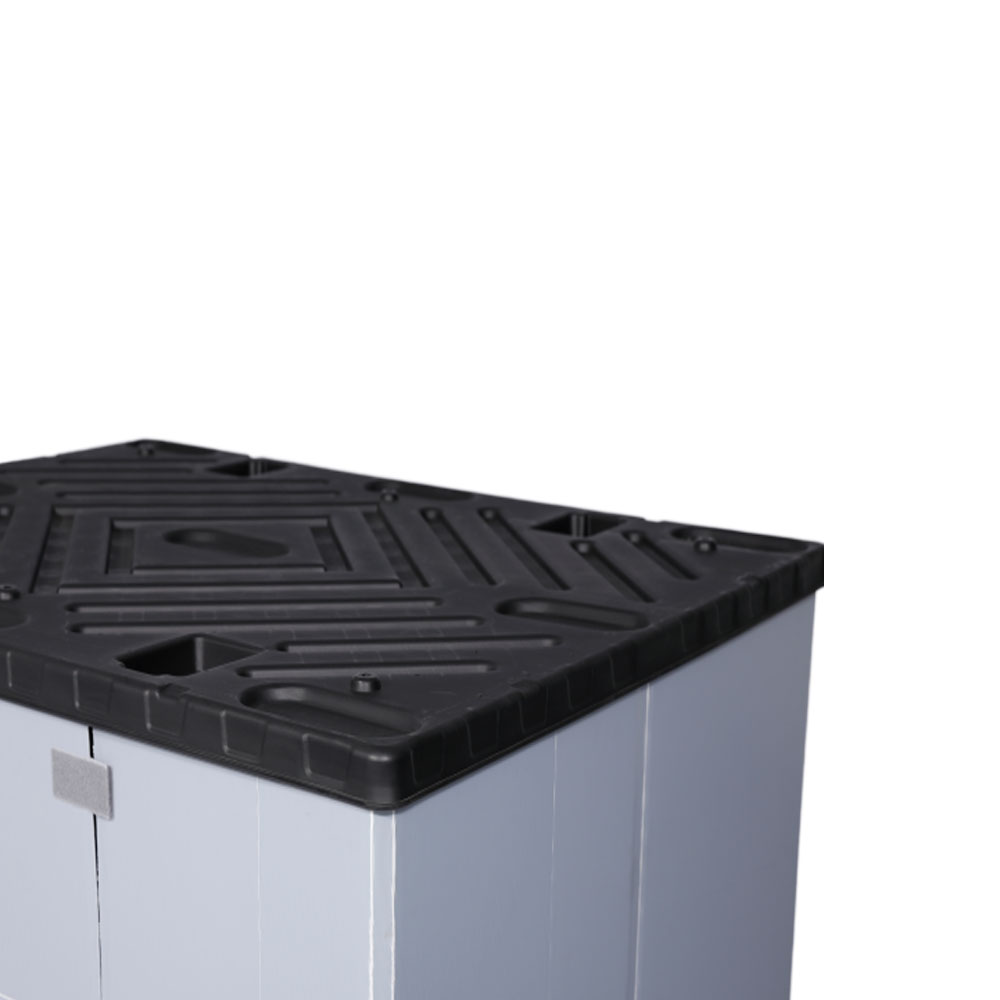 Heavy Duty Collapsible Stackable Plastic Crates