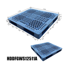 Hard Plastic Rectangular Use Plastic Pallet