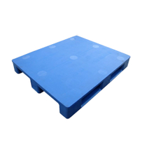 1200*1000*165 Wholesale Rackable Closed Type Flat Deck Plastic Pallet