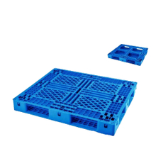 Recycled Plastic Pallets HDPE Stacked Grid Deck Plastic Pallet