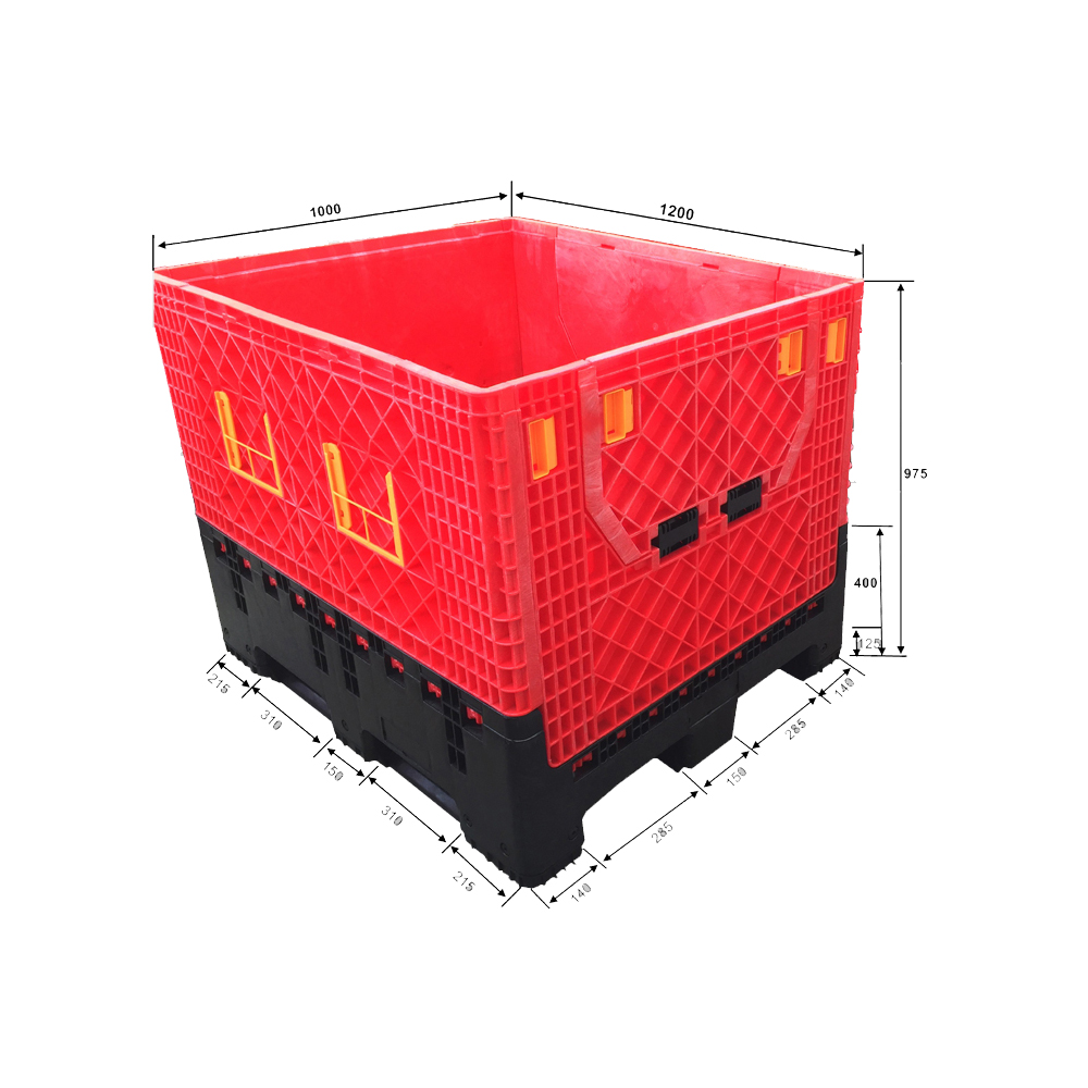 Stackable Heavy Duty Plastic Storage Containers with Lid