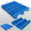 1200*1000 Three Runners Open Deck Industry Wholesale Plastic Pallet