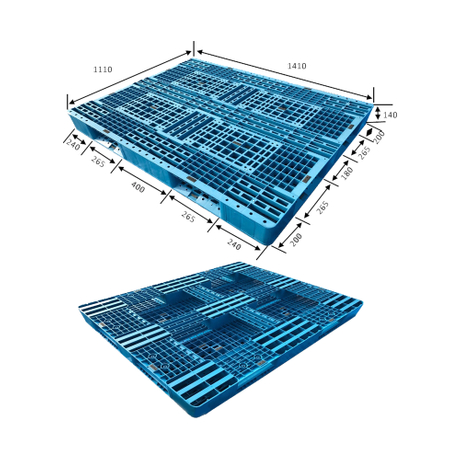 Smooth Surface Single Face Plastic Pallets