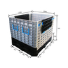 1200*1000*860 Reusable Folding Plastic Storage Containers