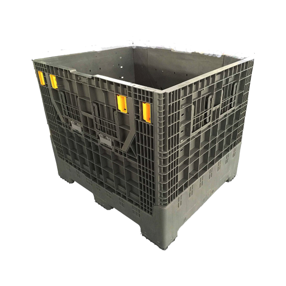 Hdpe Heavy Duty Transport Plastic Pallet Box for Euro Sales