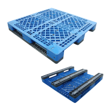 1200*1200 Three Runners Open Deck Heavy Duty Stackable Plastic Pallets