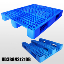 Industry Plastic Pallet with 3Runners And Mess Deck Stackable Plastic Pallets