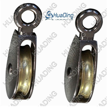 Die Casting Double Pulley with Fixed Eye